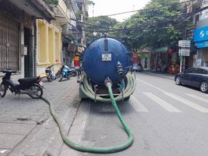 Hút bể phốt tại Phố Quảng Bá giá rẻ nhất - 0911.441.666